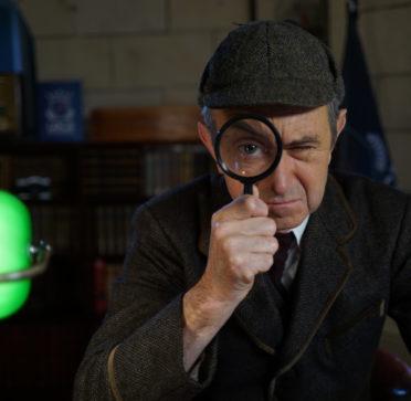 Une loupe pour mener l'enquête à l' Escape Game de la Lock Academy Troyes