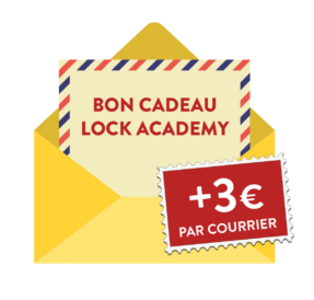 Logo bon cadeau escape game Troyes à Lock Academy