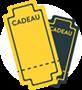 Pictogramme illustratif de la carte bon cadeau escape game Troyes Lock Academy