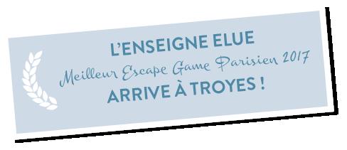 Elue meilleure enseigne d'Ile de France, la Lock Academy lance son Escape Game Troyes