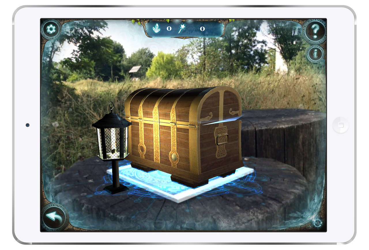 Réalité augmentée - Portail Magique de Lock Academy Troyes